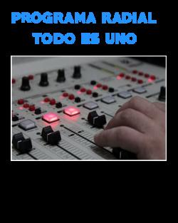 Programas de radio Todo Es Uno