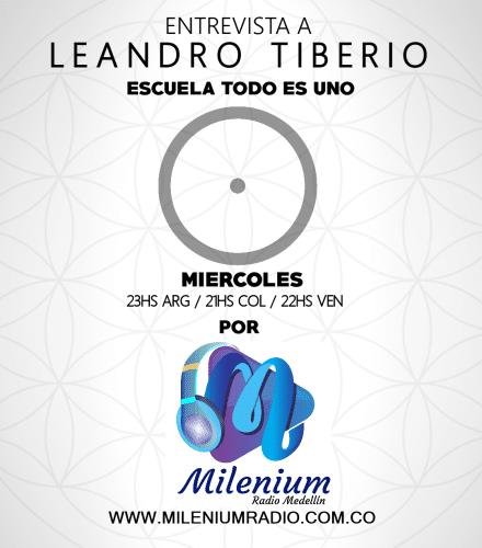 Entrevista a Leandro para milenium radio medellin